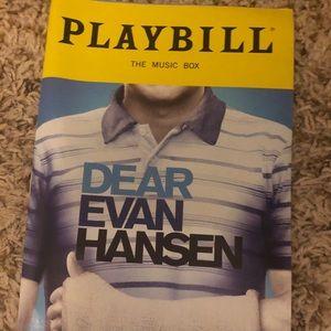 Dear Evan Hansen Broadway Playbill
